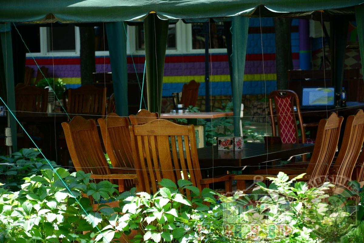 летняя площадка кафе карусель 1