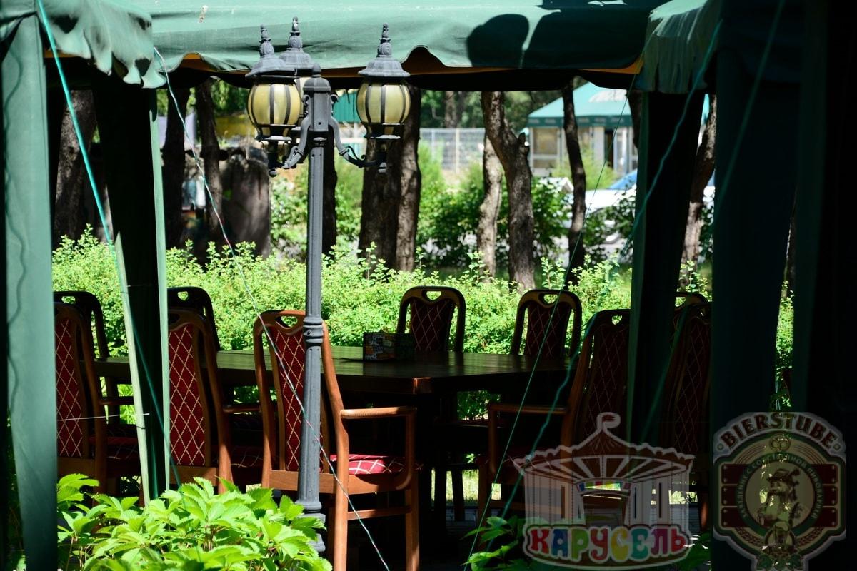 летняя площадка кафе карусель 2