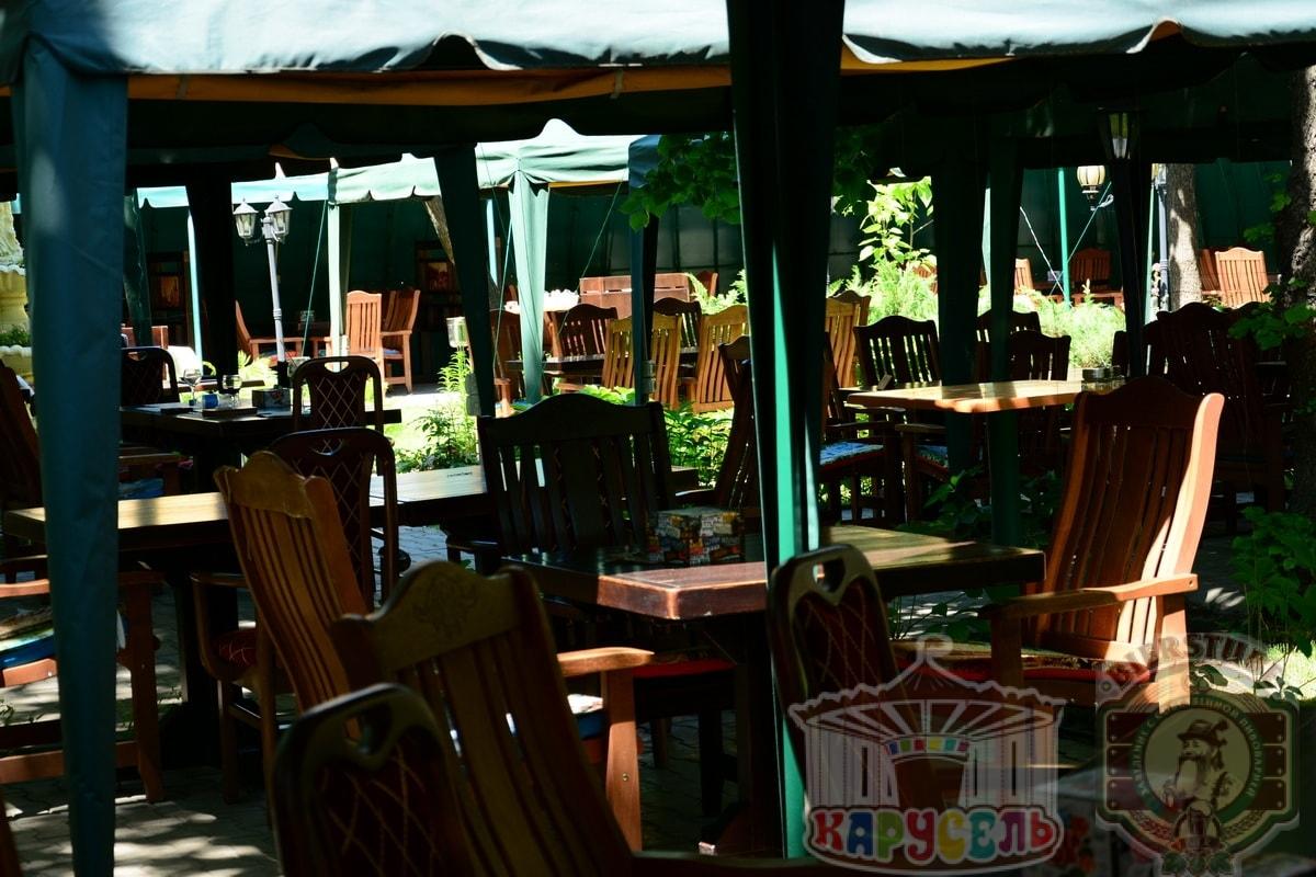 летняя площадка кафе карусель 3