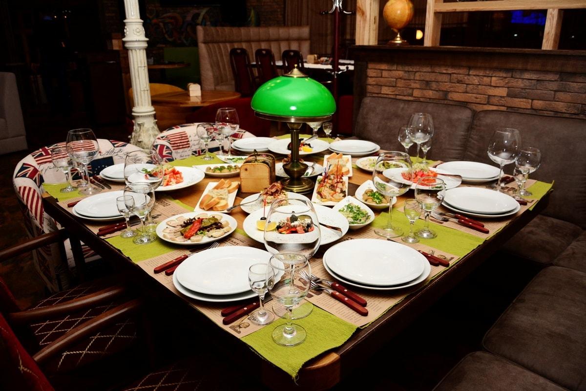 бронирование столика ресторан