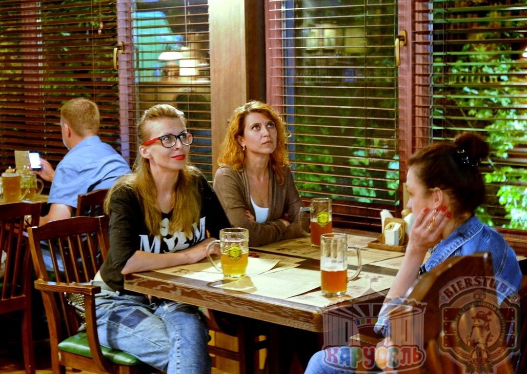 бар в ресторане карусель в днепре